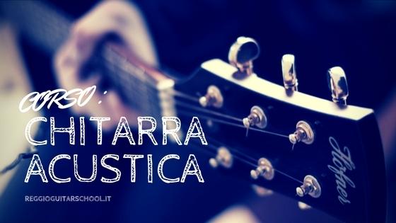 Corso professionale di chitarra acustica