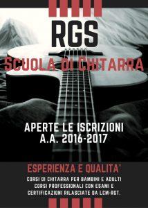 Iscrizioni corsi di chitarra