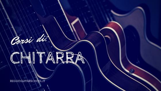 corsi di chitarra reggio guitar school