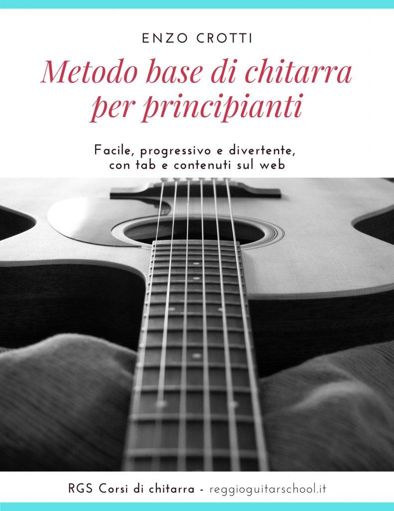Cover metodo corso di base chitarra per principianti