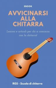 Cover ebook gratuito corso di chitarra